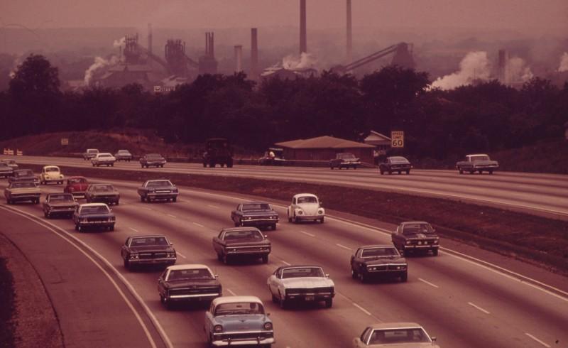 zanieczyszczenia w miastach