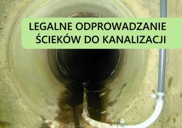 Odprowadzanie ścieków do kanalizacji