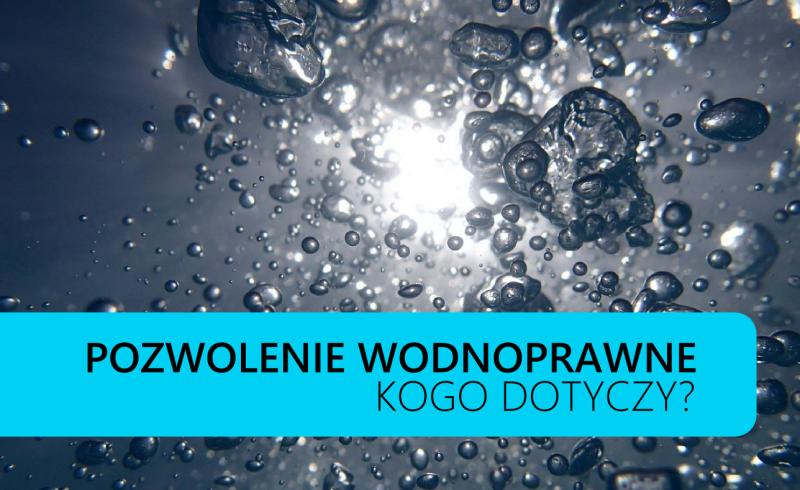 pozwolenia wodnoprawne